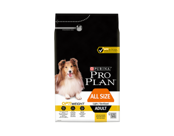 PRO PLAN ALL SIZE LIGHT/STERILISED Riche en Poulet
